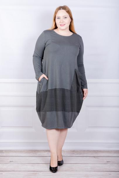 Sukienka włoska krata