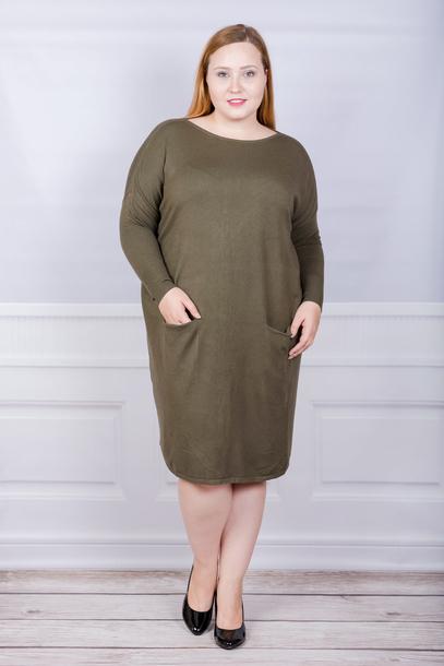Sukienka - sweterek guziki