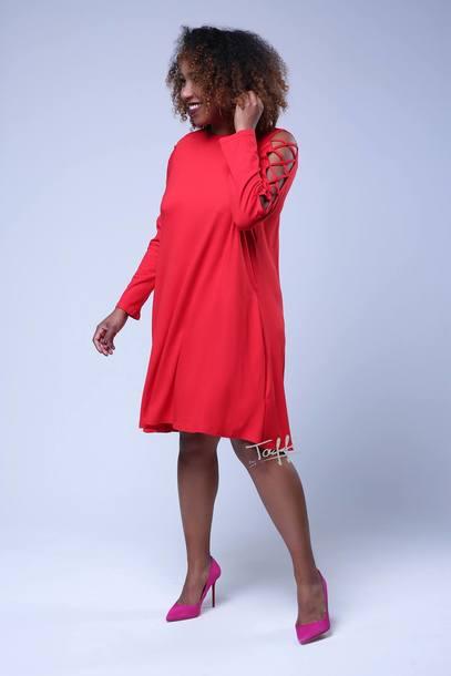 Sukienka NIXI czerwona