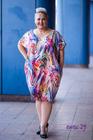 Goldi Sukienka mix fioletowy