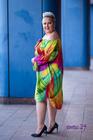 Fonetti Sukienka neon