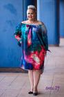 Fonetti Sukienka niebieskie tło