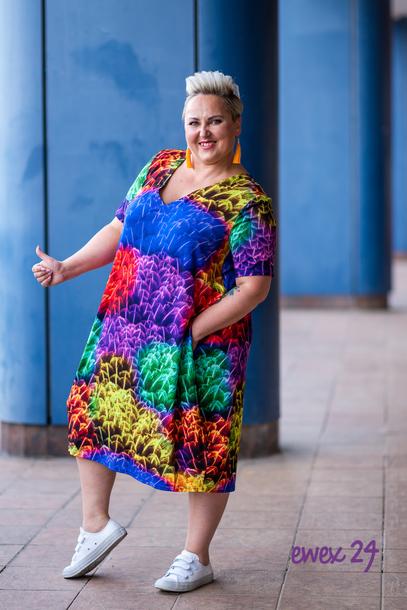 Lolita Sukienka mix kolorów