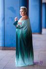 Pandora Sukienka cieniowana zielona