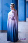 Pandora sukienka cieniowana fioletowa