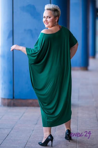 WIJA sukienka zielona
