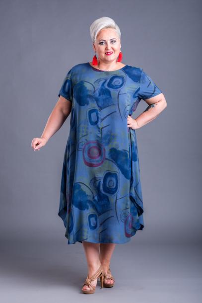 Agnes Sukienka niebieska