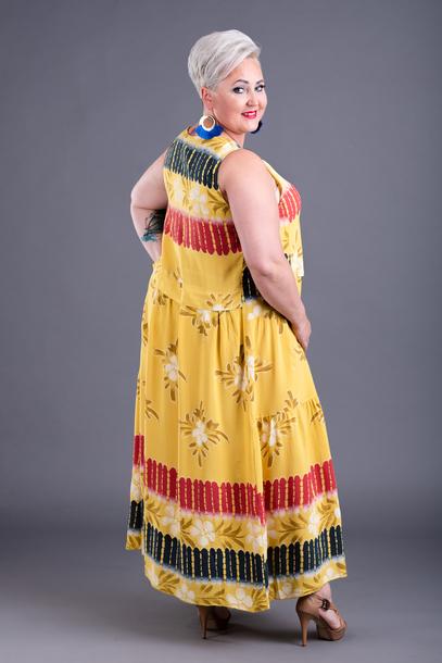 Nadia Sukienka żółta
