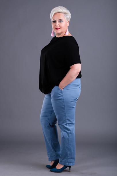 Spodnie wiązane bawełniane jeans