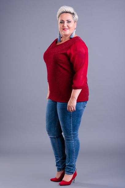 SONIA bluzka czerwona
