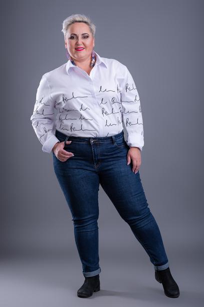 Jeansy ze streczem