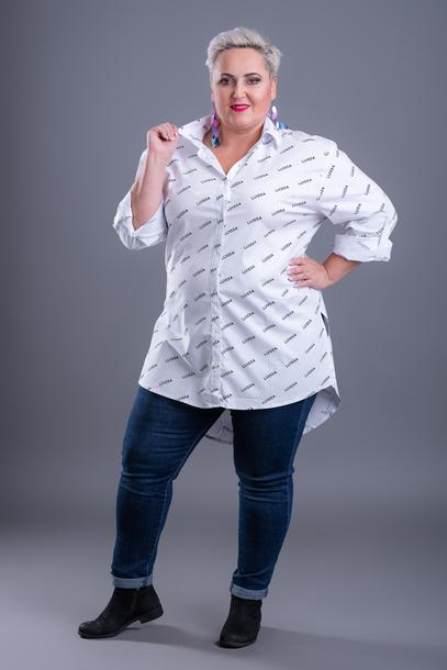 Koszula długa Luissa biała