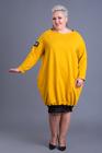 Sukienka dresowa Style żółta