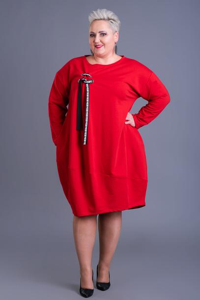 Sukienka Ajana czerwona