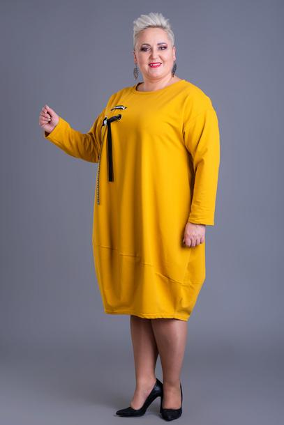 Sukienka Ajana żółta