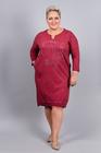 Sukienka Enjoy bordowa (1)