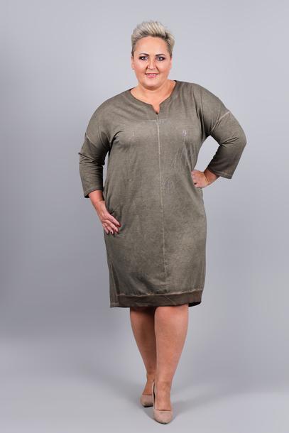 Sukienka Enjoy khaki