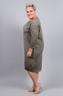 Sukienka Enjoy khaki (2)