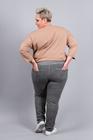 Spodnie dresowe z lampasem grafitowe (2)