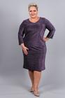 Sukienka z połyskiem fioletowa (2)