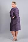 Sukienka z połyskiem fioletowa (3)
