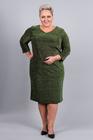 Sukienka z połyskiem zielona (1)