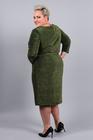 Sukienka z połyskiem zielona (2)
