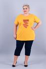 T-shirt Keep Calm żółty (1)