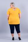 T-shirt Keep Calm żółty (2)