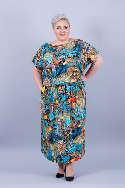 Grand sukienka palmy