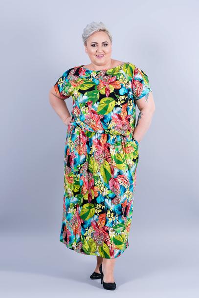 Grand sukienka kwiaty