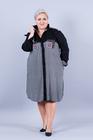 Sukienka koszulowa krata (2)