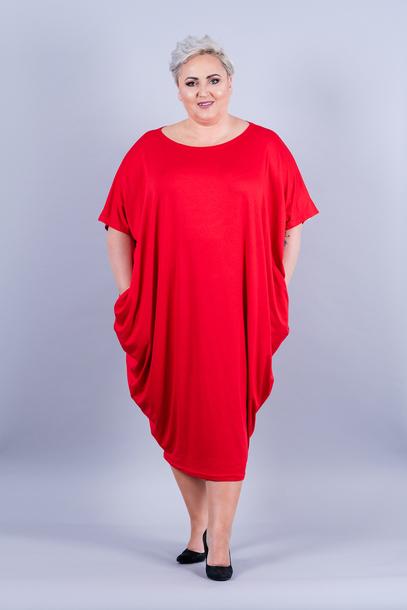 WIJA sukienka czerwona