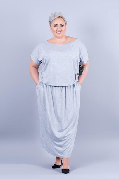 Grand sukienka szara