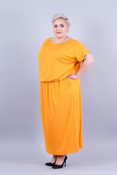 Grand sukienka pomarańczowa
