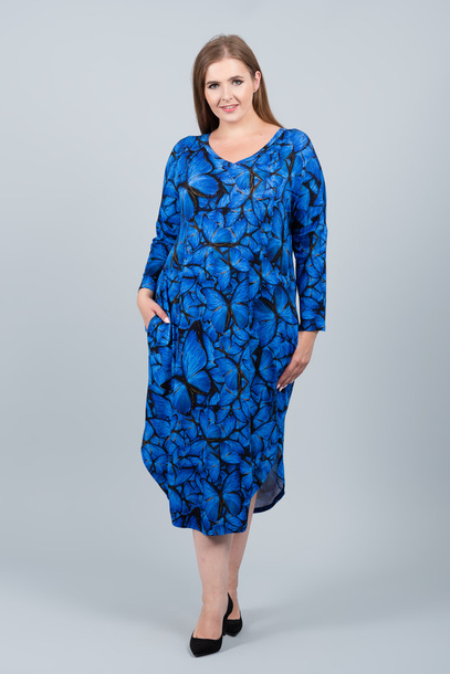JAJO sukienka niebieskie motyle