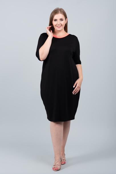 NEON sukienka czarna