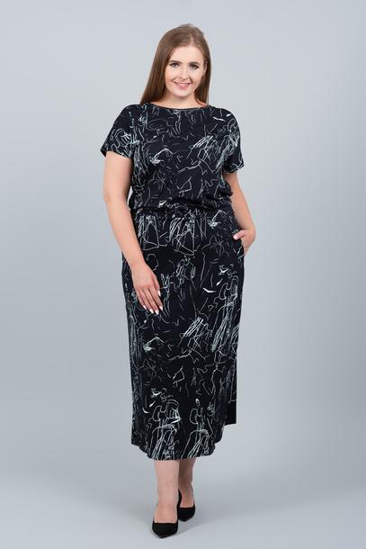 GRANDI sukienka czarna