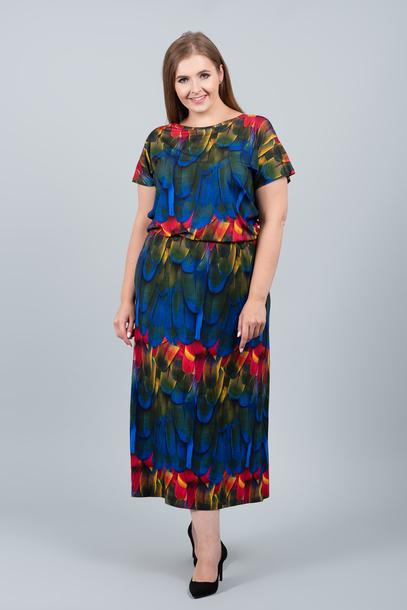 GRANDI sukienka pióra
