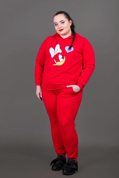 DAISY dres czerwony