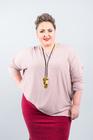 GŁADKI sweter różowy (2)