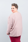GŁADKI sweter różowy (3)