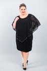 CEKIN sukienka czarna