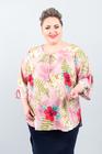 WIOSNA bluzka różowa