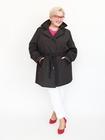Płaszcz trenczowy czarny