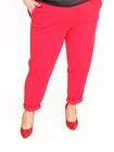 Spodnie żorżeta czerwone