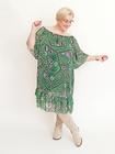 Sukienka hiszpanka print zielona