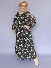 Sukienka szyfonowa  irysy