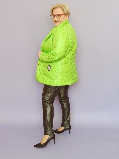 Kurtka neon zielona