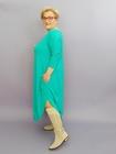 Sukienka jajko długie wiskoza morska (2)